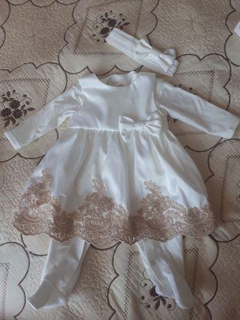 Детское платье в отличном состоянии