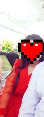 Шикарная двойка, цвет красный