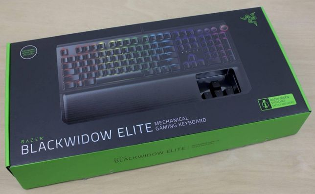 Tastatura Gaming Mecanica Razer BlackWidow Elite Green Chroma RGB noua