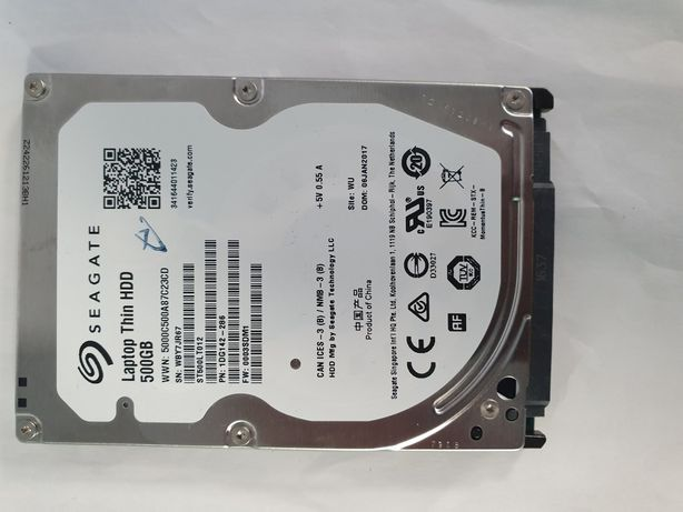Vand Hard Disk HDD Laptop Thin Seagate 500GB