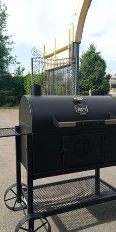 Продам американский Grill, BBQ угольный чугунный гриль Oklahoma Joe's