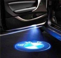 LED логотип на двери
