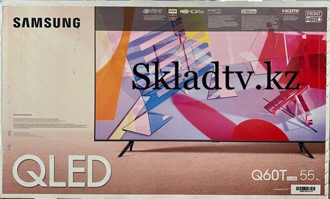 АКЦИЯ!! Космический Телевизор Samsung QLED  55Q60 4K HDR 10+ спец цена