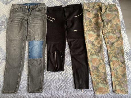 Женские джинсы скинни 42-44 Zara за все три пары 4000