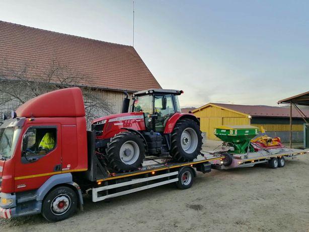 Transport utilaje Cluj - Agricole si Industriale & auto