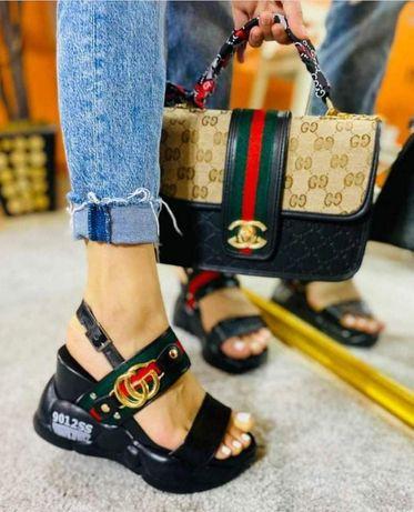 Set 2 piese geanta și sandale