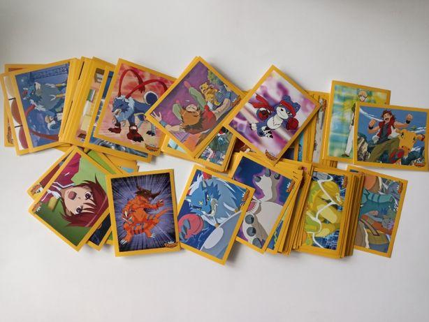Vând stickere si revistă Digimon Data Squad