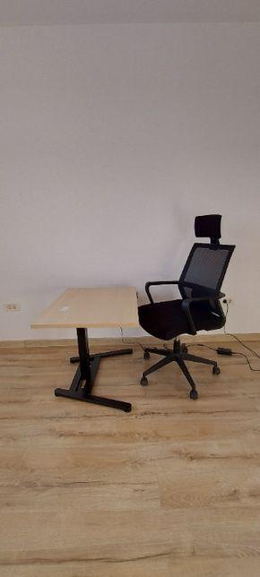 Scaun de birou - Black TerrA6042A - tetiera reglabila-transp gratuit