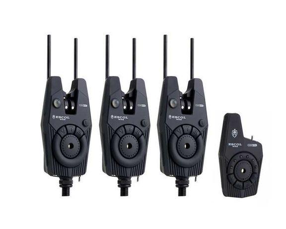 Сигнализатори  CARP PRO ESCOL WRS 3+1/4+1