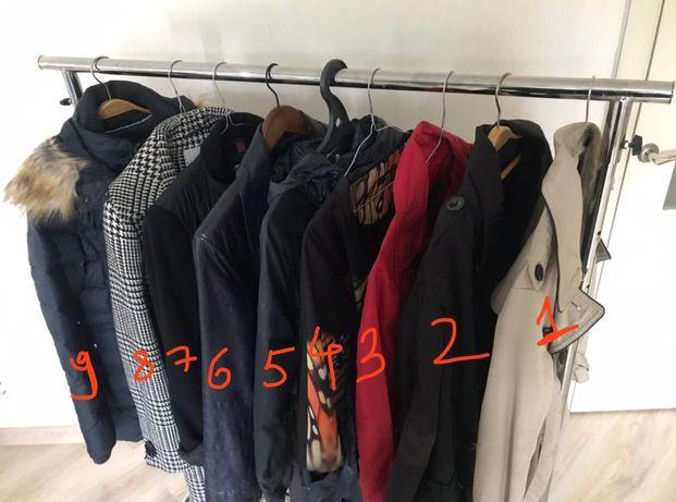 5-6. Верхняя одежда от 3000тг, 36-38 размер,плащи,пальто,куртки,Adidas
