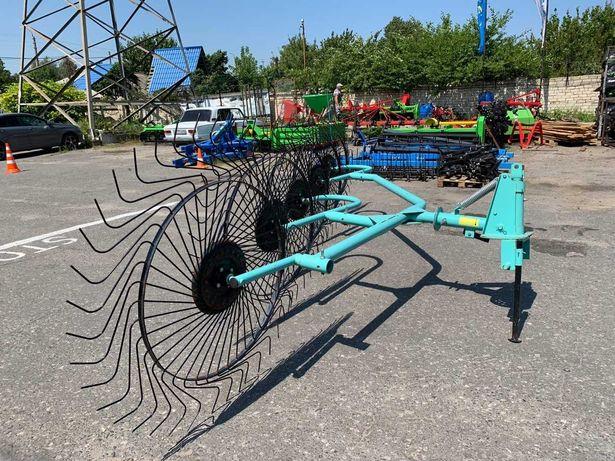 Грабли-ворошилки OGR 5ти колесные 3.3м (усиленные)