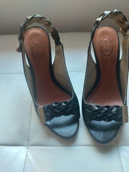 Елегантни обувки от естествена кожа