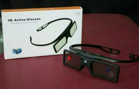 2бр. 3D очила/ Sony, Panasonic, Samsung,Sharp, Philips, Epson