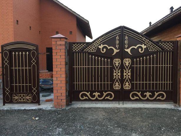 Ворота уличные, откатные, распашные, рольставни