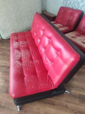 Продам диван и два кресла раскладные