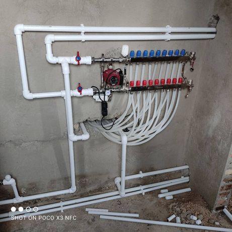 Услуги сантехника Отопление Водопровод Канализация