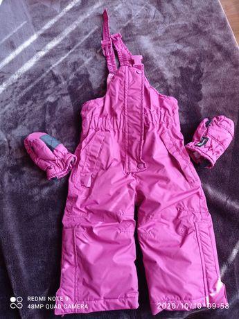 Зимни дрехи за момиче