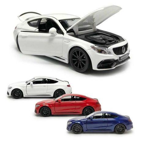 Машина металлическая Mercedes-Benz C63s coupe (машинки мерседес)