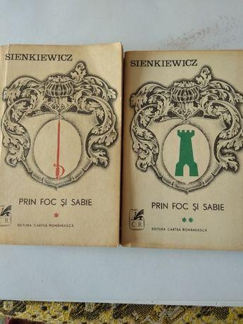 Prin foc si sabie -- Vol. 1 +2 -- de H.Sienkiewicz