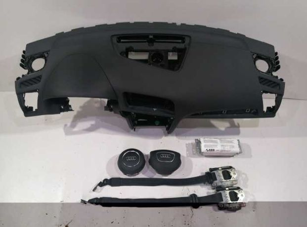 Audi Q5 8r 8a kit airbag volan pasager plansa de bord facelift lift