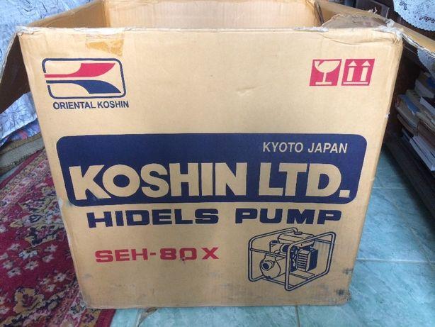Motopompa Irigatii Koshin 3 toli SEH 80X cu motor Honda G200