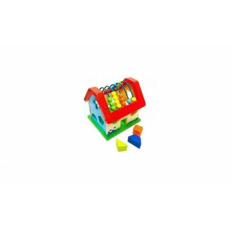 Casuta Montessori Sortator si Numaratoare,jucarie educativa