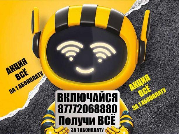 Интернет Дома Билайн-Акция Все за 1 Абонплату