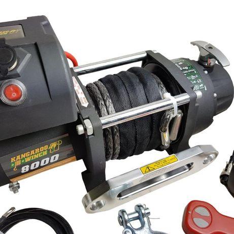 Лебедка KangaroWinch (PowerWinch) Compact синтетично въже 8000lb