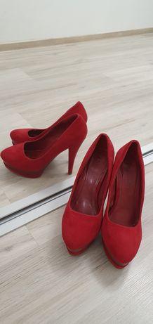 Pantofi imitatie catifea mar 39.5