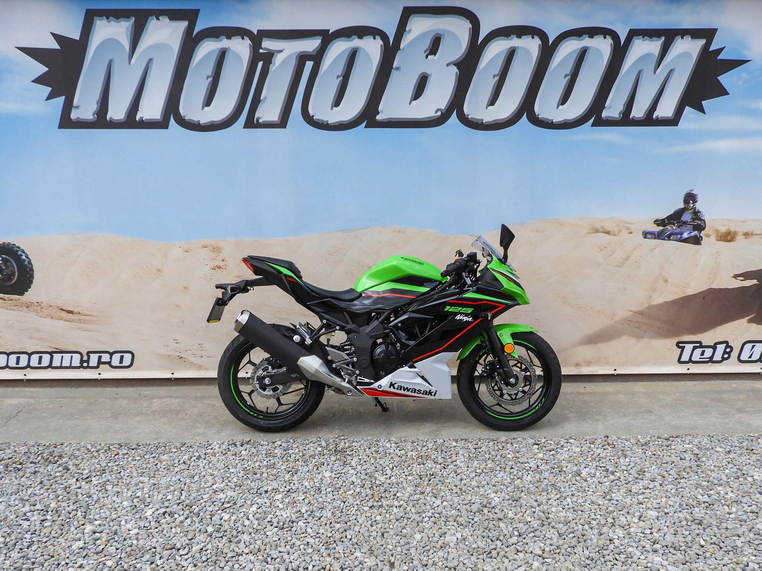 Motocicleta Kawasaki NINJA 125 ABS 2021