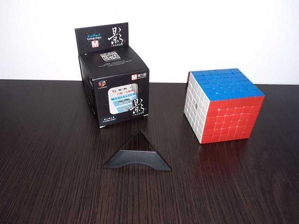 Cub Rubik - QiYi - MFG X-Man Shadow Magnetic 6x6x6 Stickerless