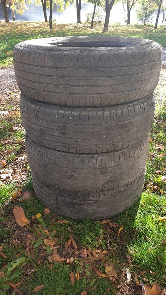 Всесезонни гуми за джип 225/65/17 MICHELIN Lattitude tour 4 бр .