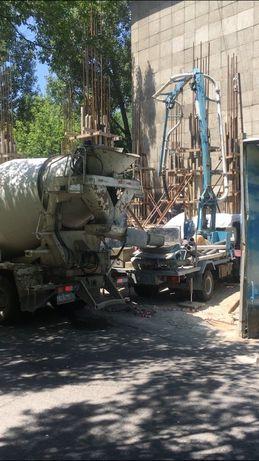 Автобетононасос от 30000тг 18м, бетона насос, кобра, слон