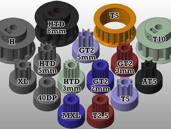Услуги с 3D Принтер от (PLA) в размери 30x30x35