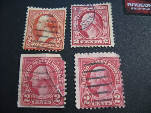 Timbre US Postage 2 cents