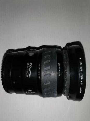 Обектив Minolta AF28-105 ZOOM-Xi, A-Mount за Сони камери
