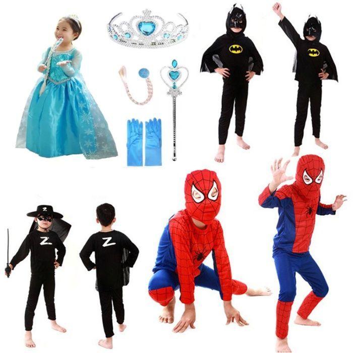 Нови Костюми Спайдърмен, Батман, Рокля Елза - spiderman, batman, elsa