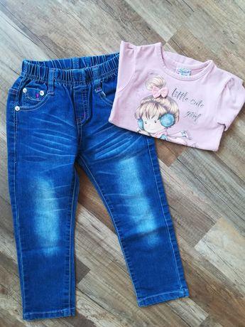 Блузка и дънки за момиче