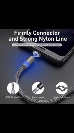 Магнитно зарядно магнитен кабел микро USB ,Micro USB ,Type-C