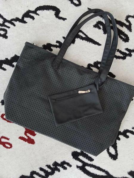 Графитено сива  и Черна чанта гр. Несебър - image 1