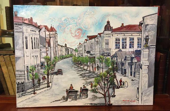 "Tablou Gheorghe Parascan - ""BACĂUL VECHI"" (ulei pânză, semnat, 50x70)"