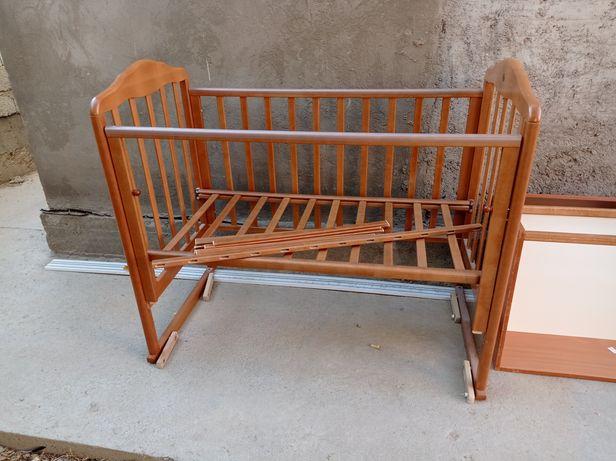 Детская кровать, качелья кровать, детская мебель