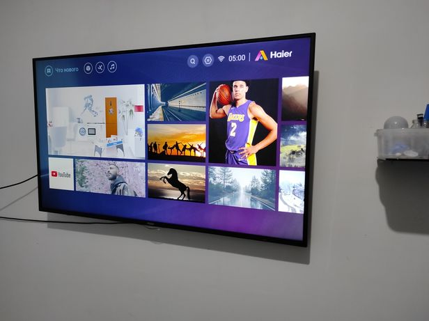 Телевизор LED HAIER LE49K6500U с кронштейном