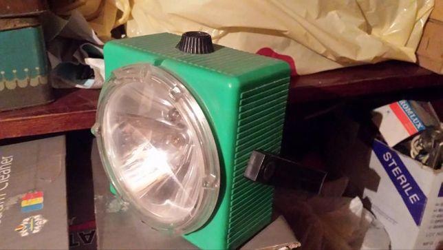 Lampa pe baterii cu 2 becuri vintage