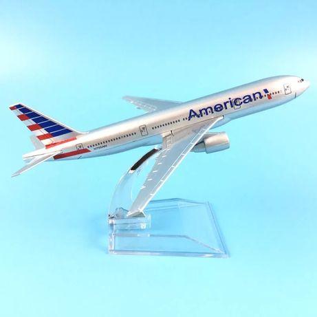 Avion metal Boeing 777 Air American /cadou