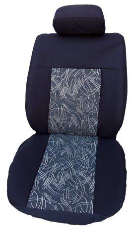 1+1 тапицерия, калъфи само за две предни седалки с дунапрен