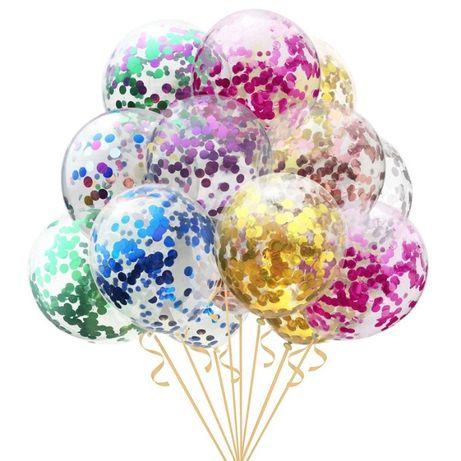 Baloane confetti cu heliu - 10 lei - IASI