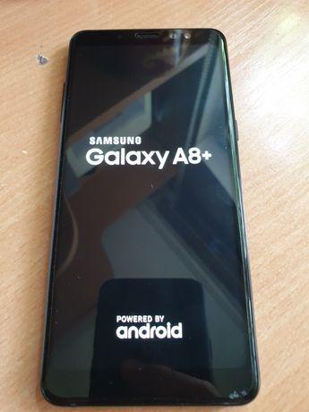 Samsung Galaxy A8 Plus, чёрный