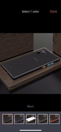 Samsung Note 10 10 Plus - Husa Hybrid din Silicon Spate Plastic