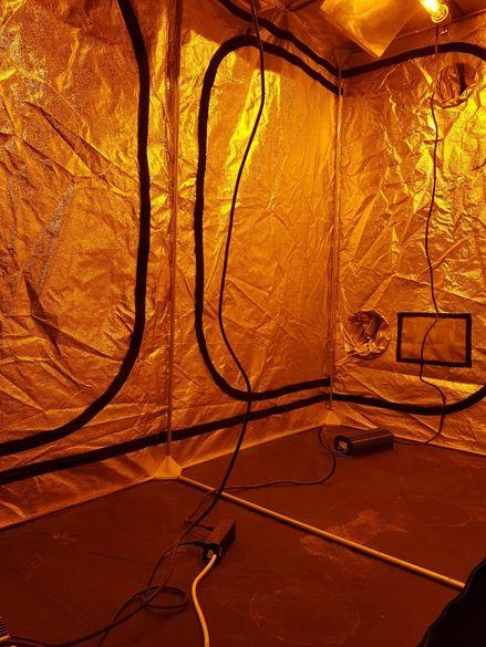 Гроубокс mammoth tents комплект600вт.